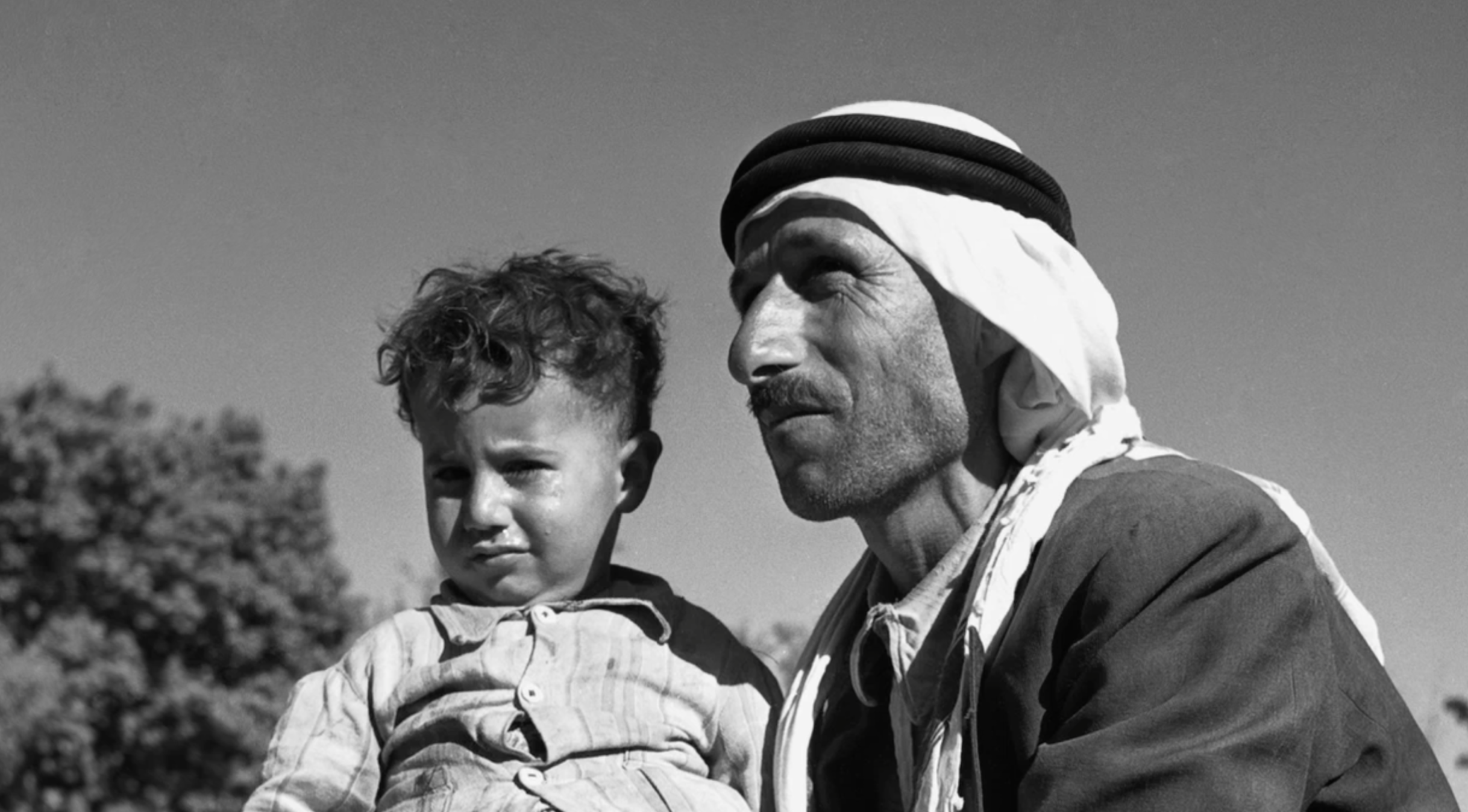 Arab with Child