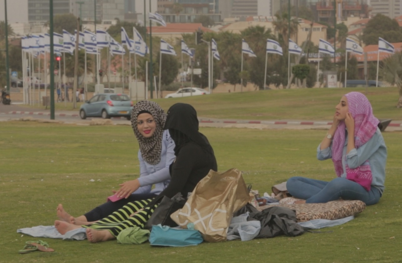 Three Arab women in Israel